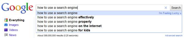 google search optimization